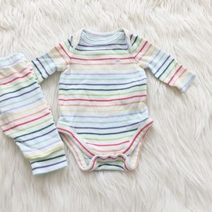 Baby Gap Striped Outfit
